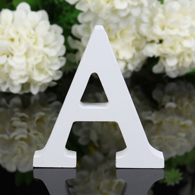 3D-White-Art-Craft-Thick-Wooden-Letters-Word-Wedding-Birthday-Party-Decoration