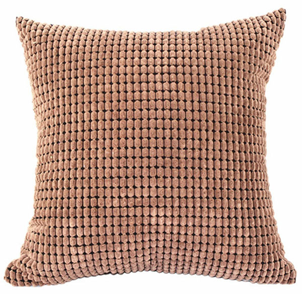Square Throw Pillow Cases : Square Velvet Throw Pillow Cases Cushion Covers Pillowcase Bed Office Home Decor