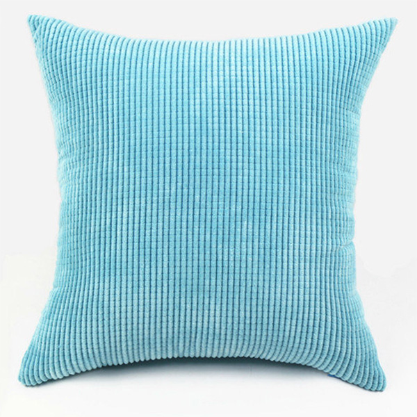 Large Square Decorative Pillow Covers : Linen Big Square Throw Sofa Pillow Case Cotton Cushion Cover Home Sofa Car Decor eBay