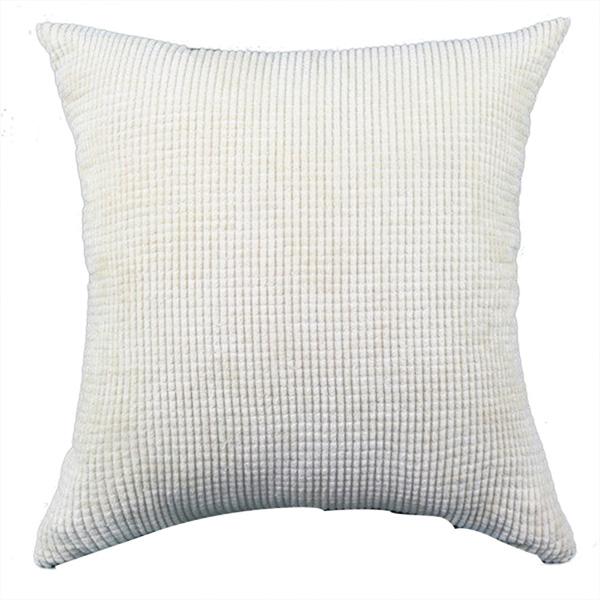 Linen Big Square Throw Sofa Pillow Case Cotton Cushion
