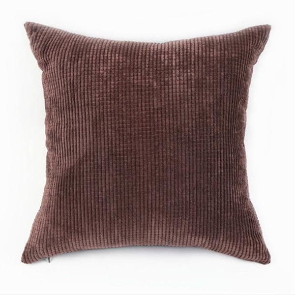 Big Square Corduroy Throw Sofa Pillow Case Cushion Cover Home Sofa Decor 55X55cm eBay