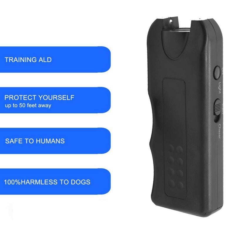 Pet Dog Ultrasonic Anti Barking  Trainer Gentle Led Light Chaser-Style Petgentle 3