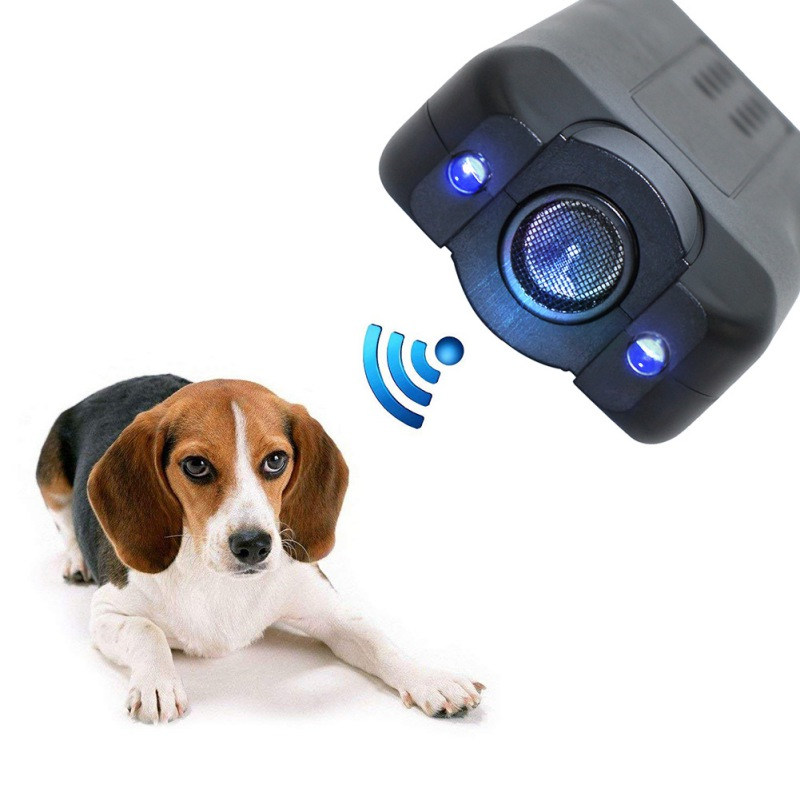 Pet Dog Ultrasonic Anti Barking  Trainer Gentle Led Light Chaser-Style Petgentle
