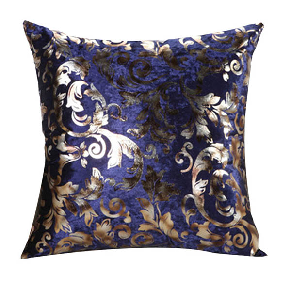 Square Throw Pillow Size : Retro Floral Print Square Throw Pillow Case Sofa Bed Decor Cushion Cover 2 Size eBay