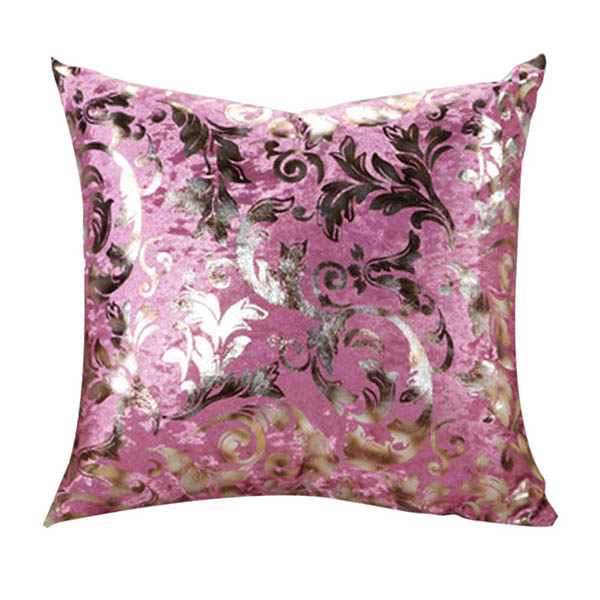 Throw Pillow Case Size : Retro Floral Print Square Throw Pillow Case Sofa Bed Decor Cushion Cover 2 Size eBay