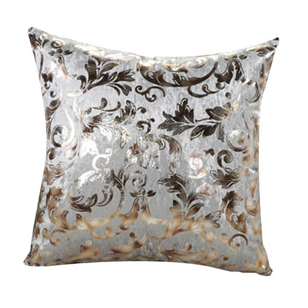 Square Throw Pillow Sizes : Retro Floral Print Square Throw Pillow Case Sofa Bed Decor Cushion Cover 2 Size