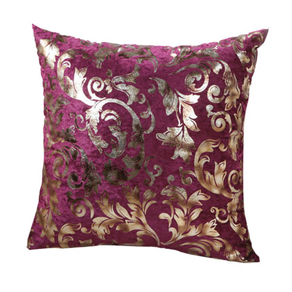 Square Throw Pillow Size : Retro Floral Print Square Throw Pillow Case Sofa Bed Decor Cushion Cover 2 Size