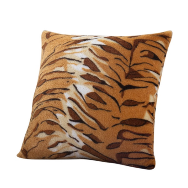 neu animal zebra leopard printed kissen case sofa throw. Black Bedroom Furniture Sets. Home Design Ideas