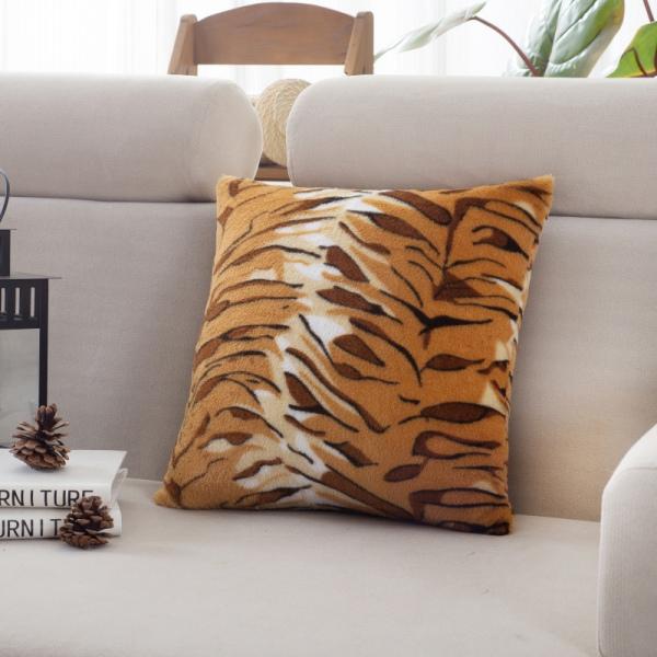 home sofa decor linen cotton throw pillow case square cushio