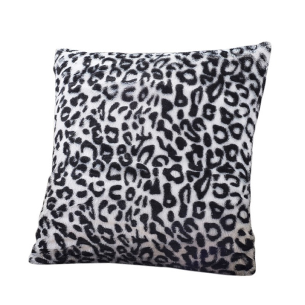 Soft Square Leopard Printed Sofa Throw Pillow Cover Cushion Case Sofa Bed Decor eBay
