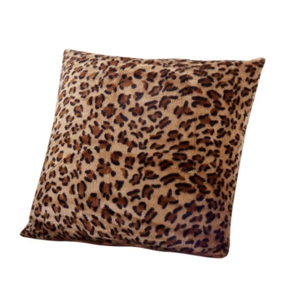 hot animal zebra leopard printed pillow case sofa throw