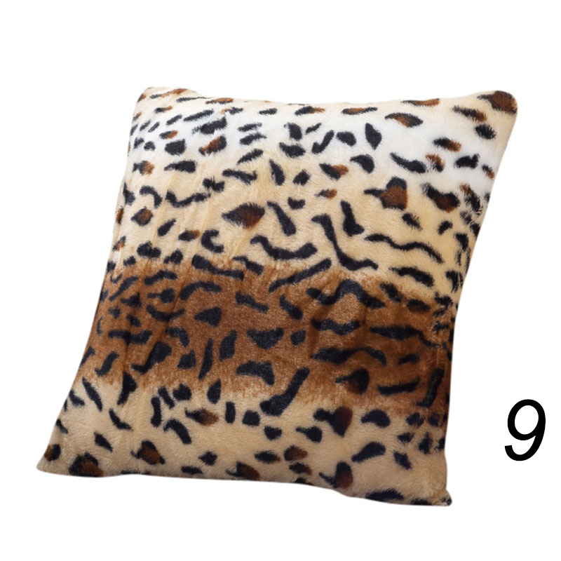 Animal Pillow Prints : Animal Zebra Leopard Print Pillow Kissen Sofa Waist Throw Cushion Cover Dekor eBay