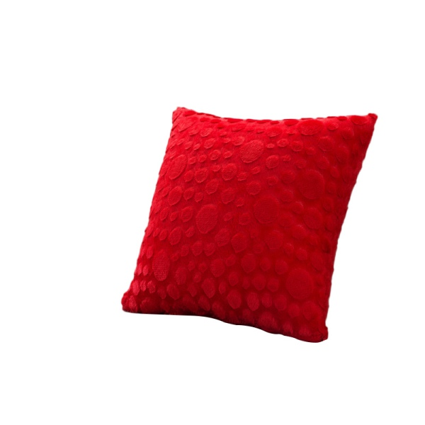 Throw Pillow Covers Washable : Multi-color Home Decor Plush Square Pillow Case Washable Solid Cushion Cover New eBay