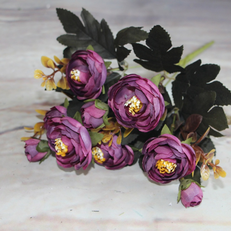 Artificial-Fake-Silk-Peony-Flowers-Home-Room-Decor-Bouquet-Wedding-Party-Flower