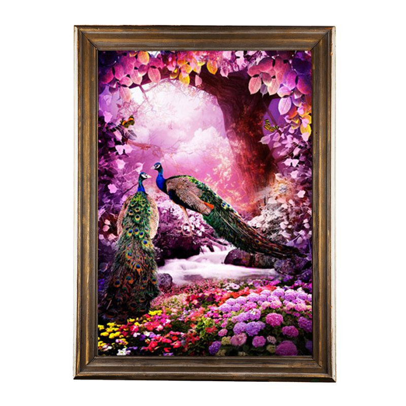 Diy 5d Diamond Embroidery Painting Home Decor Craft Flower