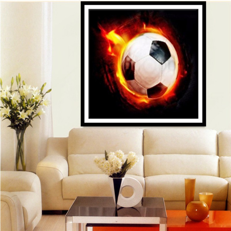 5d Diy Magic Cube Round Diamond Full Embroidery Painting