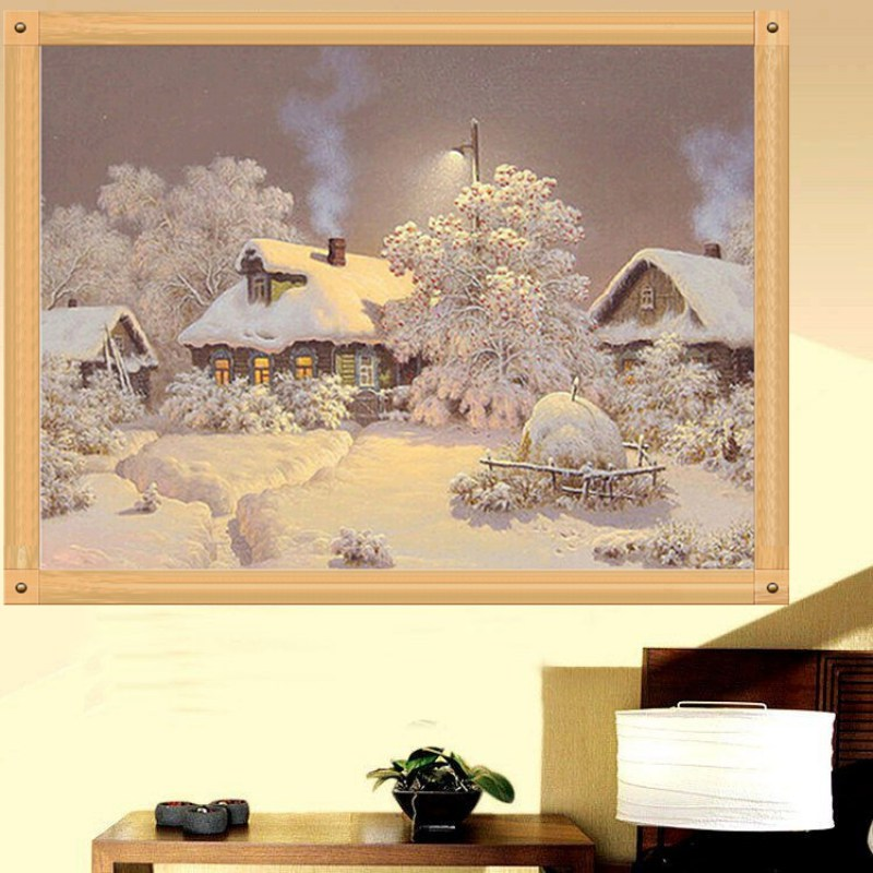 DIY 5D Diamond Painting Flower Embroidery Cross Crafts