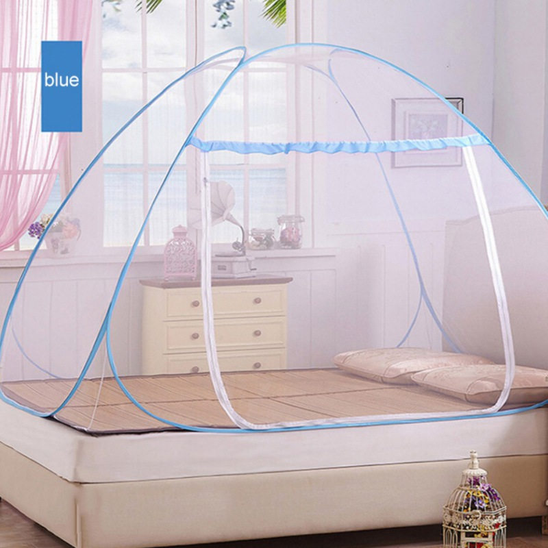 Portable-Mosquito-Net-Insect-Protection-For-Bed-Outdoor-Travel-Camping-Tent-Easy