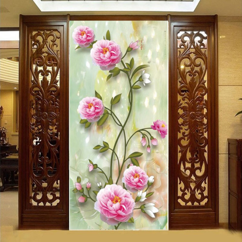 Home decor 5d crystal round diamond painting embroidery for Home decor 5d