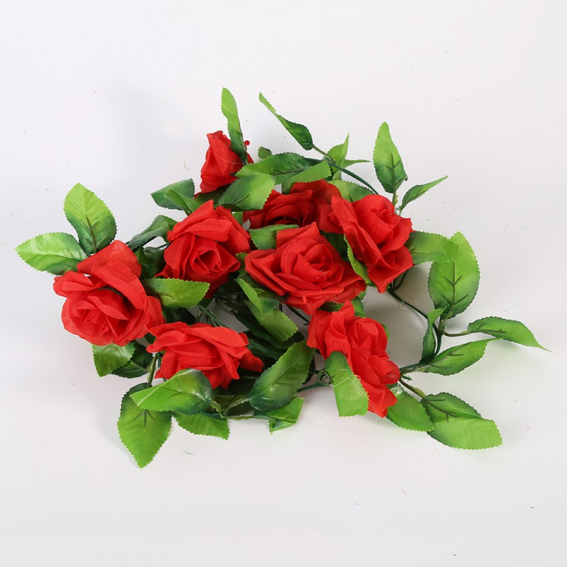 Artificial-Fake-Silk-Leaf-Rose-Flower-Peony-Wedding-Hangng-Garland-Decor-Bouquet