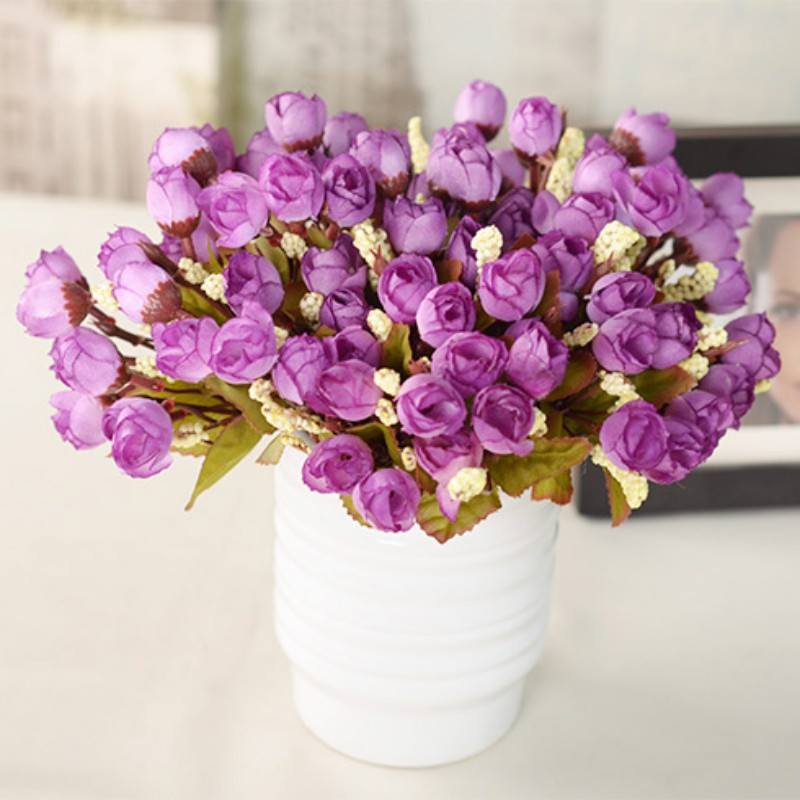artificial hydrangea bouquet party home decor wedding fake