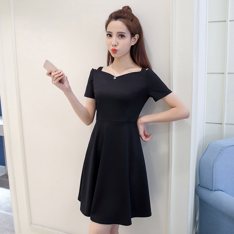 Womens Plus Size Short Sleeves High Waist Evening Cocktail Gown
