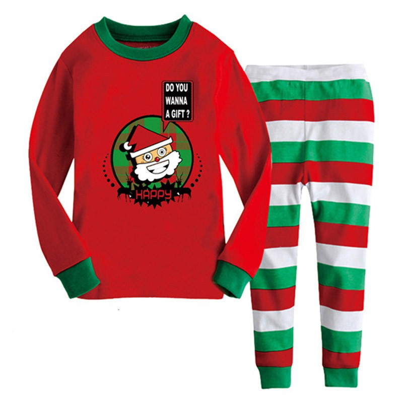 2 8y christmas kids baby girls boys home - Childrens Christmas Pyjamas