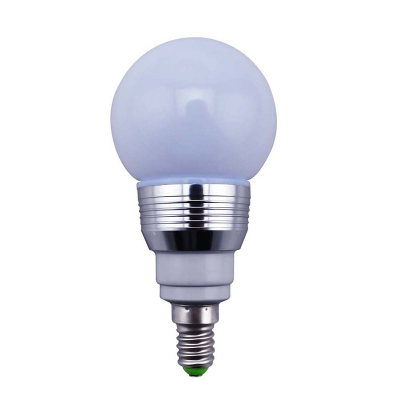 16 Colors Change Rgb 3w E27 Led Magic Light Bulb Lamp Ir Remote Control Ebay