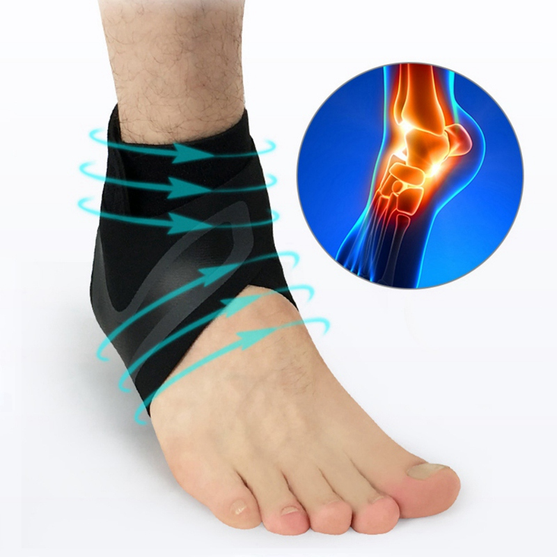 ankle support protector brace foot sprains injury