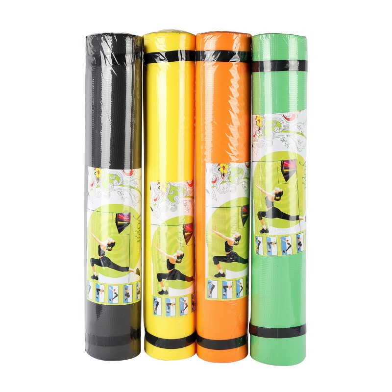 4MM EVA Yoga Mat Dampproof Anti-slip Foldable Anti-Tear Gym