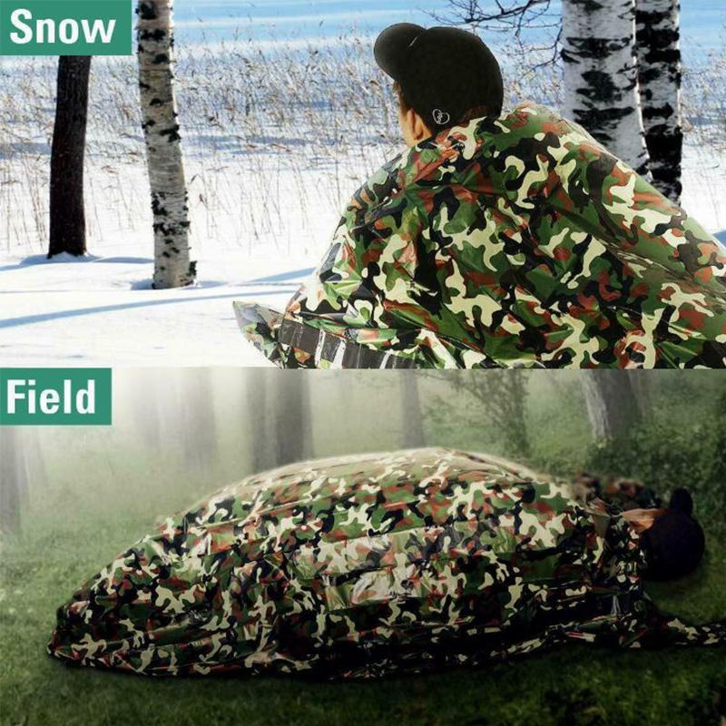 Envelope-Single-Sleeping-Bag-Ultra-light-Fleabag-Camping-Travel-Hiking-Outdoor thumbnail 12
