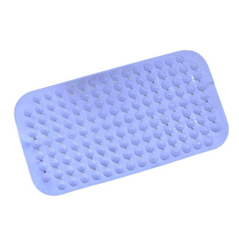 New Bathroom Tub Non Slip Bath Floor Mat Plastic Rubber