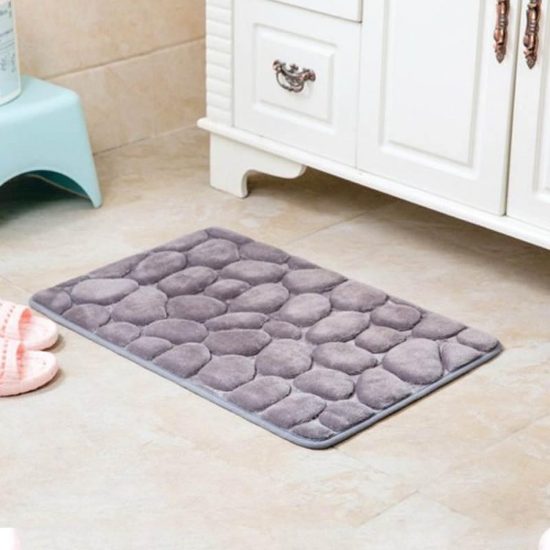 Cobblestone Rug Rug Absorbent Doormat Floor Carpet Non