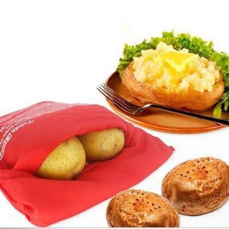 Cooking Potato Express Microwave Baked Potato Cooker