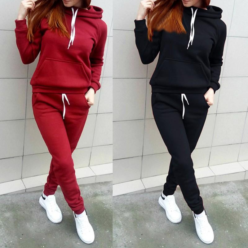 Gril Slim Fit Jogging Tracksuit Sports Gym Sweat Suit Athletic Apparel Outfits