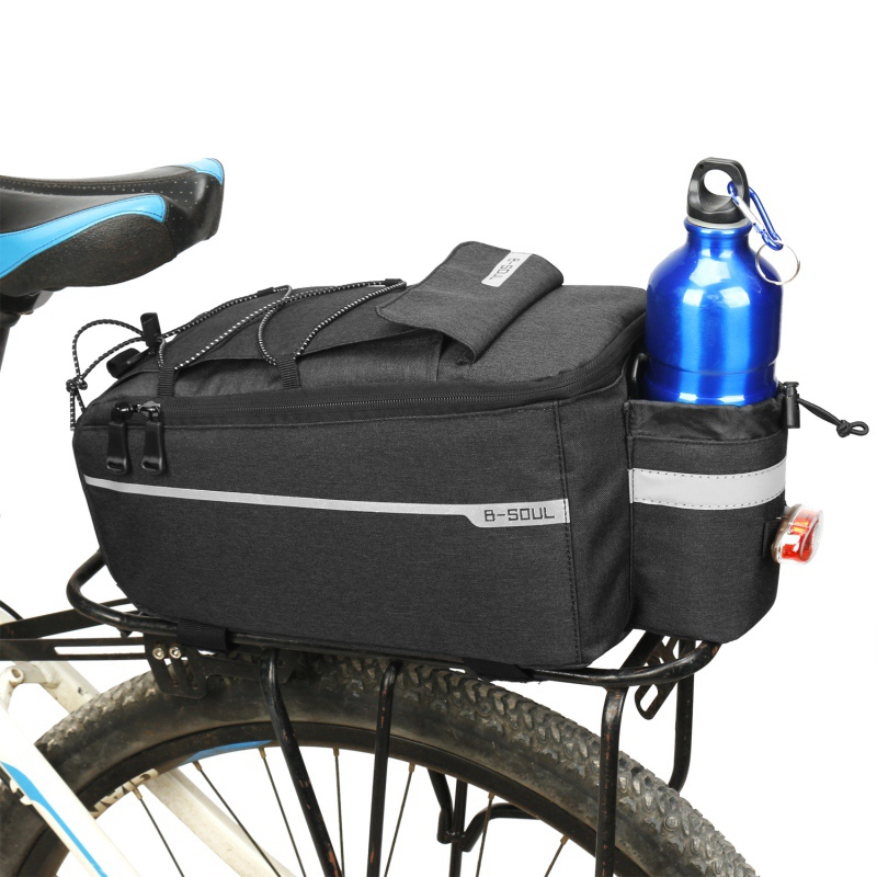 Bicycle Cycling Bike Rear Rack Seat Trunk Saddle Tail Storage Pannier Pouch Bag