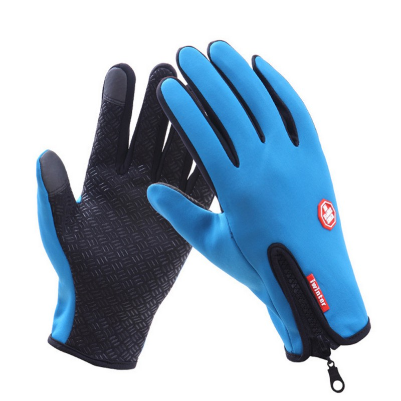 Waterproof Windproof Outdoor Sports Touch Screen Gloves