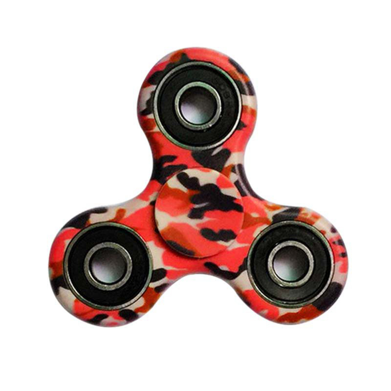 tri fidget camo hand spinner triangle ceramic finger toy edc focus adhd autism ebay. Black Bedroom Furniture Sets. Home Design Ideas
