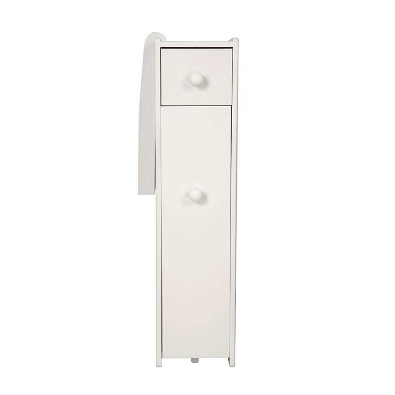 2-Drawer-Chest-Dresser-Storage-Organizer-Bathroom-Cabinet-Bedroom-Furniure-White miniature 4