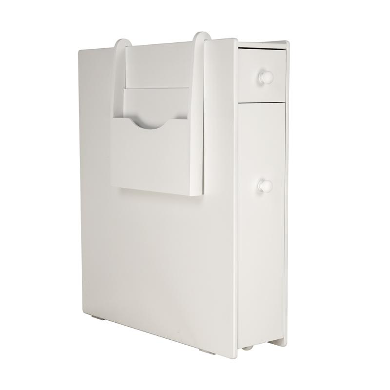 2-Drawer-Chest-Dresser-Storage-Organizer-Bathroom-Cabinet-Bedroom-Furniure-White miniature 3
