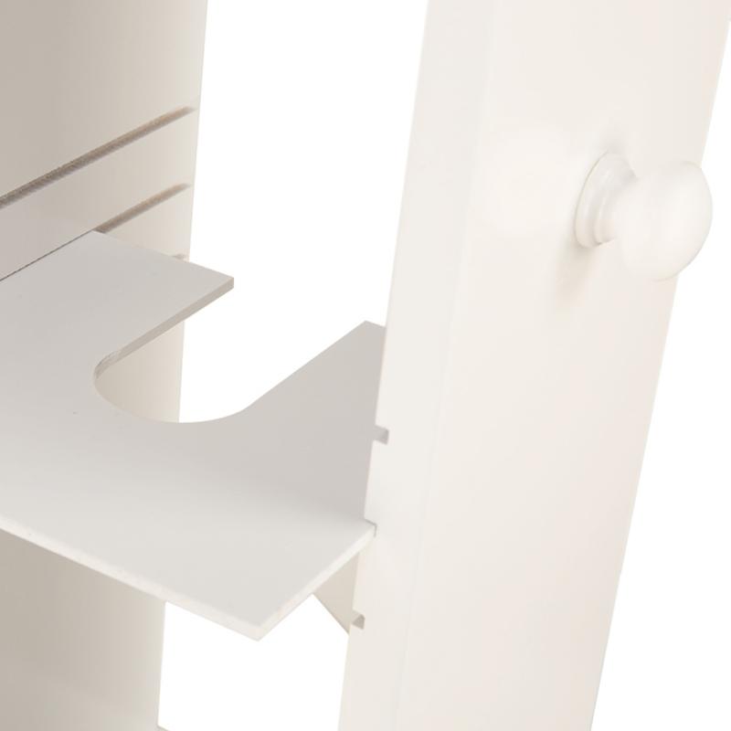 2-Drawer-Chest-Dresser-Storage-Organizer-Bathroom-Cabinet-Bedroom-Furniure-White miniature 5