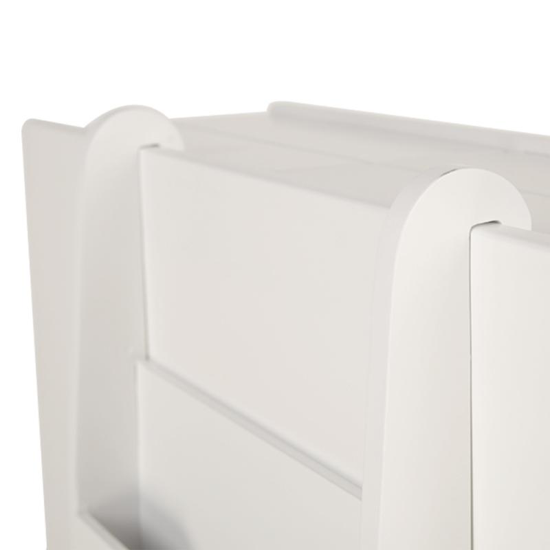 2-Drawer-Chest-Dresser-Storage-Organizer-Bathroom-Cabinet-Bedroom-Furniure-White miniature 8