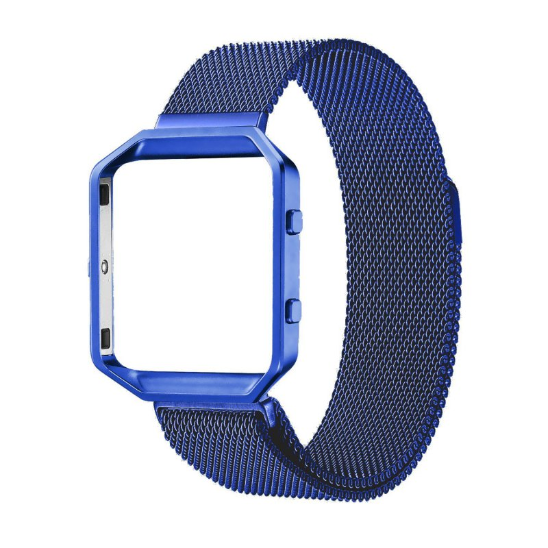 how to change fitbit blaze band