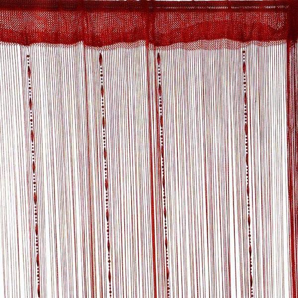 Fringe crystal beads string curtain tassel door window - Crystal door curtain beads ...