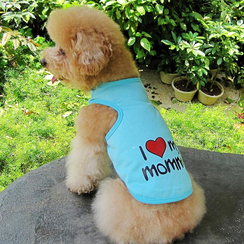 New-Cute-Summer-Various-Pet-Puppy-Small-Dog-Cat-Pet-Clothes-Vest-T-Shirt-Apparel thumbnail 13