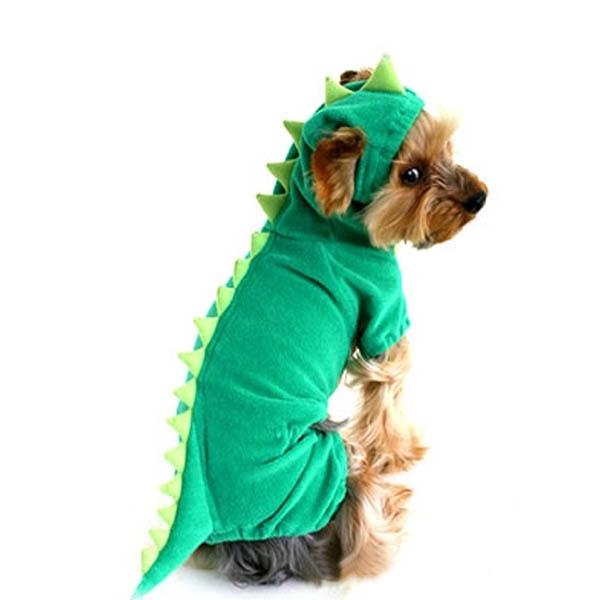 Cute-Pet-Dog-Dinosaur-Costume-Coat-Puppy-Dragon-Dinosaur-Apparel-Outfit-Clothes thumbnail 5