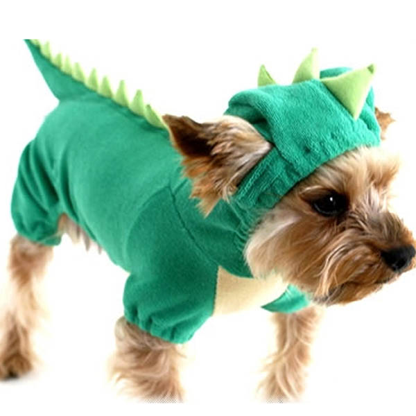 Cute-Pet-Dog-Dinosaur-Costume-Coat-Puppy-Dragon-Dinosaur-Apparel-Outfit-Clothes thumbnail 4