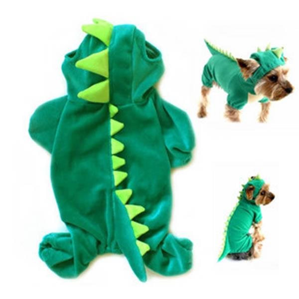 Cute-Pet-Dog-Dinosaur-Costume-Coat-Puppy-Dragon-Dinosaur-Apparel-Outfit-Clothes thumbnail 8