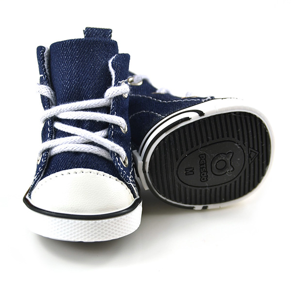... Anti slip Boots Source · Spring Puppy Pet Dog Denim Shoes Sport Casual