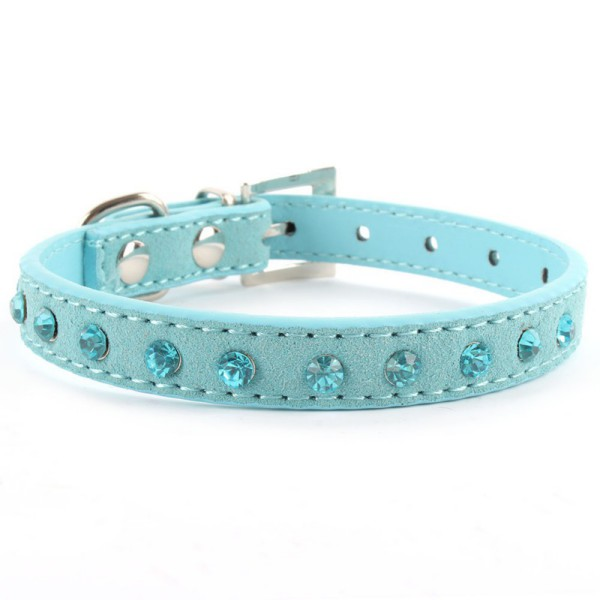 Small-Pet-Dog-Puppy-Velvet-PU-Leather-Collar-Cat-Crystal-Rhinestone-Neck-Strap